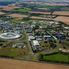 Aerial view of Diamond Light Source